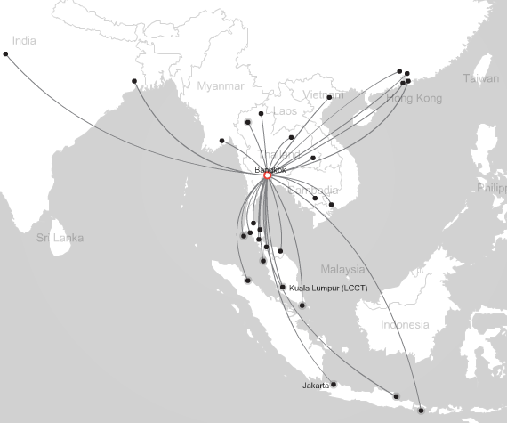 AirAsia flights from Bangkok