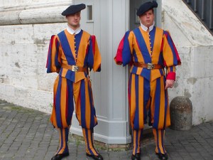 Swiss Guards, Vatican City