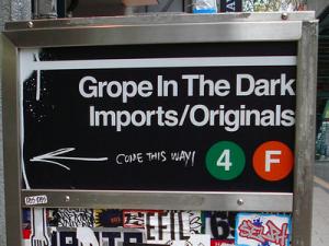 New York Subway Sign