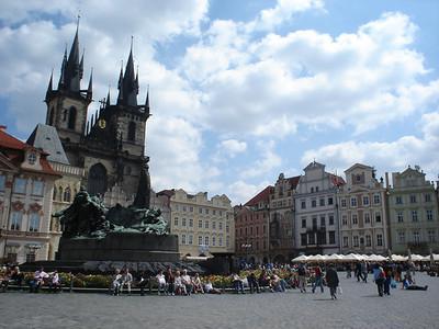 Old Town Square, Prague – Czech Republic