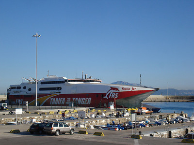 Spain to Morocco by ferry