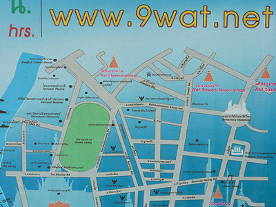 The Bangkok 9 Wats in One Day Challenge