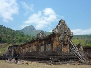 Worship Pavilion North Palace, Wat Phu Champasak – Laos