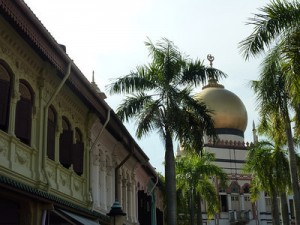 Bussorah Street and Sultan Mosque – Singapore