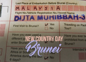 New Country Day: Brunei