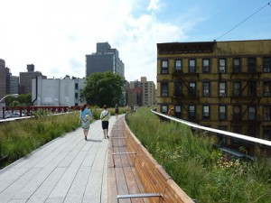 Walking the High Line – New York City