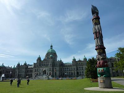 Victoria Government Parliament Buildings, Victoria – Canada
