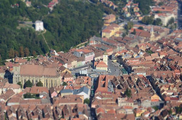 Old Town Brasov (in miniature), Brasov – Romania