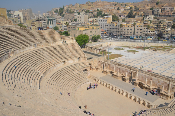 Roman theatre, Amman – Jordan