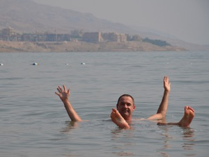 Floating in the Dead Sea – Jordan