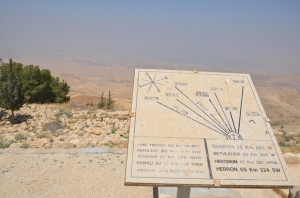 Moses was here, Mount Nebo – Jordan