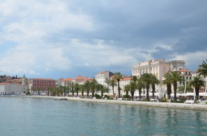 The historic World Heritage Site of Split – Croatia