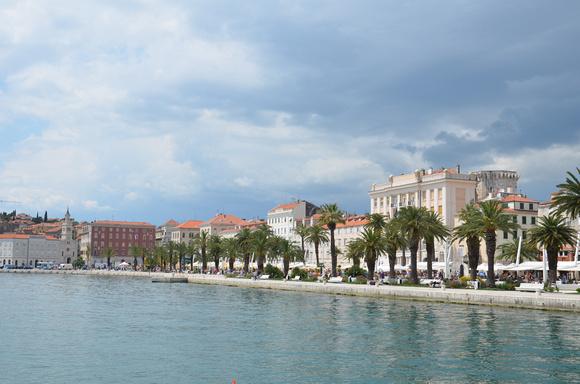 The historic World Heritage Site of Split – Croatia