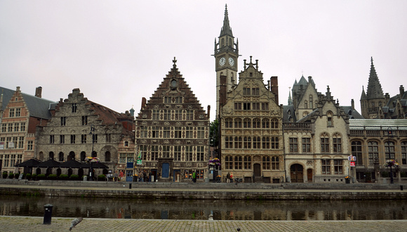 The Graslei, Ghent – Belgium