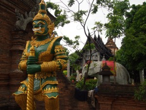 [Travel Photo] Yaksha Wat Guardian, Chiang Mai – Thailand