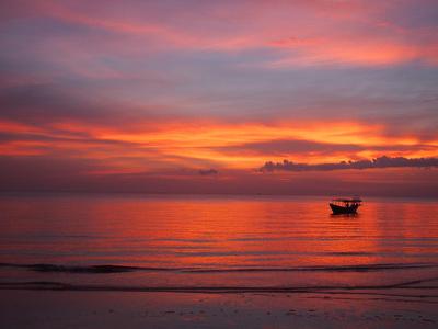 Otres Beach Sunset #nofilter, Sihanoukville – Cambodia