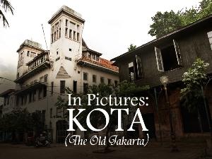 In Pictures: Kota (Old Jakarta)