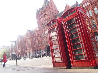 [Travel Photo] London in red, London – UK