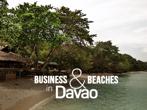 Business and beaches in Davao