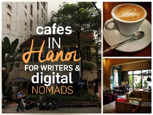 Cafes in Hanoi for writers and digital nomads