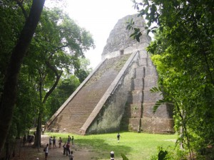 Temple V, Tikal – Guatemala