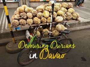 Devouring durians in Davao