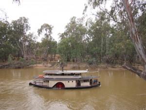 Paddlesteamer Canberra, Echuca – Australia