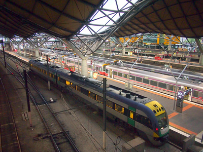 Southern Cross Station, Melbourne – Australia