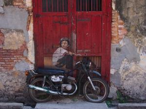 Boy on a bike, Georgetown, Penang – Malaysia