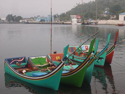 Fishing Boats, Sabang – Indonesia