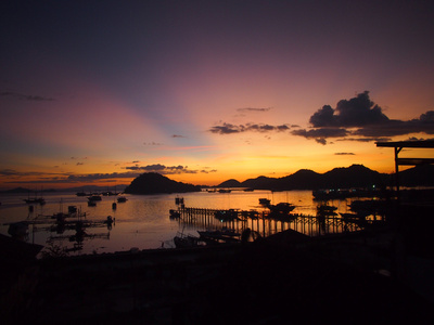 Sunset over Labuan Bajo, Flores – Indonesia