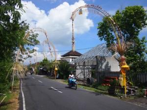Galungan in Canggu, Bali