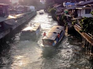 Canal Boats, Bangkok – Thailand