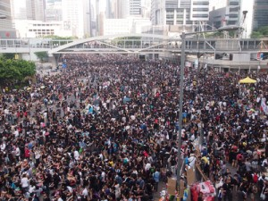 In Pictures: Occupy Hong Kong Protests (29 September, 2014)