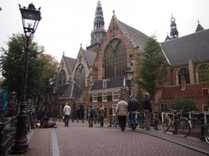 Travel Photo: Oude Kerk (Old Church), Amsterdam – Netherlands