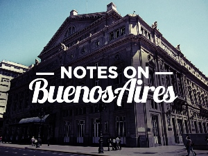 Notes on Buenos Aires