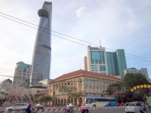Old and new Saigon