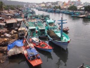 Fishing fleet in Duong Dong, Phu Quoc – Vietnam