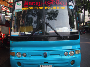Bus to Phnom Phenh