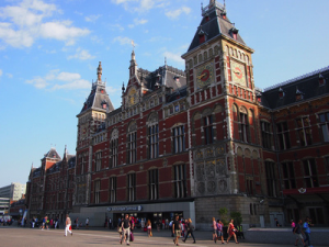 The grand Amsterdam Centraal station