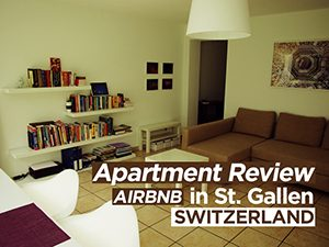 Apartment Review: Airbnb in St. Gallen, Switzerland
