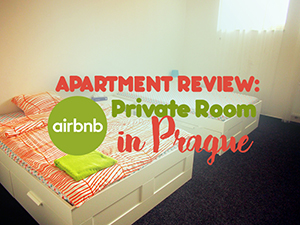 Apartment review: Airbnb private room in Prague