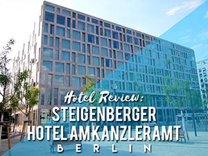 Hotel Review: Steigenberger Hotel Am Kanzleramt, Berlin