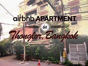 Airbnb apartment in Thonglor – Bangkok