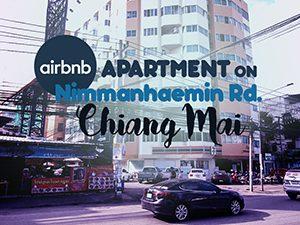 Airbnb apartment on Nimmanhaemin Rd, Chiang Mai
