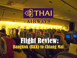 Flight Review: Thai Airways – Bangkok (BKK) to Chiang Mai