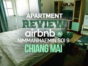 Apartment Review: Airbnb in Nimmanhaemin Soi 9, Chiang Mai