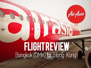 Flight Review: AirAsia – Bangkok (DMK) to Hong Kong