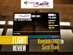Flight Review: Thai Smile – Bangkok (BKK) to Surat Thani