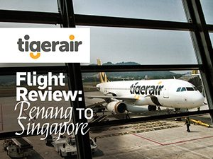 Flight Review: Tigerair – Penang to Singapore